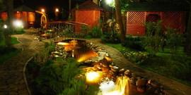 Декоративное освещение для сада – игра света и теней