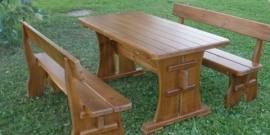 Садовая мебель из дерева – мастерим своими руками