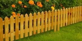 Мастерим заборчики для клумбы – творчество на участке