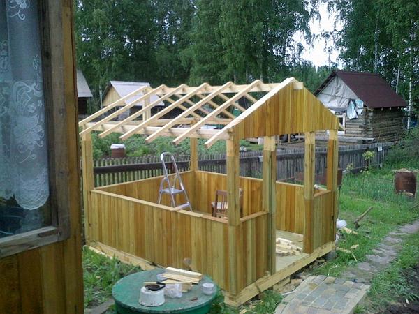 Дачные постройки фото видео