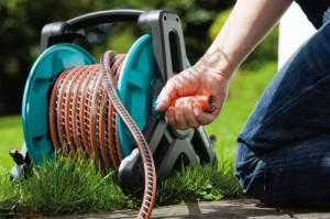 На фото - усиленный шланг для полива огорода, bt-test.ru