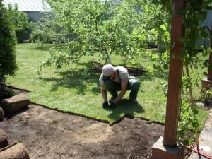 Технология укладки газона – шаг за шагом
