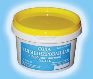На фото - кальцинированная сода, spider-gsm.ru