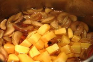 Компот из тыквы на зиму – рецепт напитка с яблоками