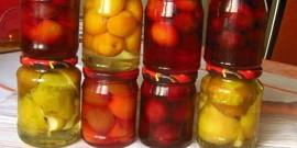 Компот из персиков на зиму – ароматный напиток для зимних вечеров