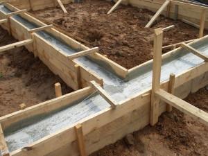 Строительство бани на садовом участке