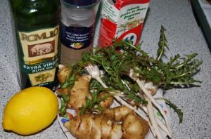 На фото - приготовление маринованного топинамбура с лимоном, gotovim-doma.ru