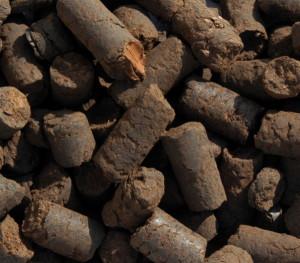 На фото - гранулированный торф, 3rifa.com.ua