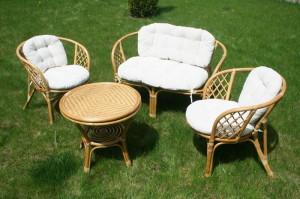 Фото садовой плетеной мебели, babyblog.ru