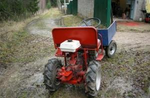 Как сделать мини-трактор из мотоблока своими руками