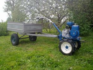 Чем удобны мини-трактора самодельные из мотоблока фото