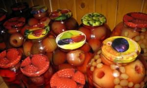 Фото компота из айвы с виноградом, varenierecepty.ru