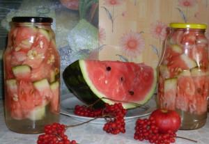 Консервация арбузов на зиму путем засолки фото