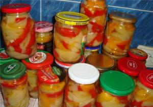 Консервированный болгарский перец в масле – рецепт №3 фото