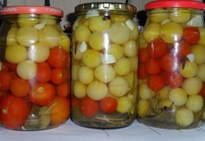 Рецепт острых овощей По-вкусному фото