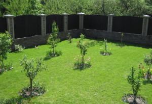 На фото - место для фруктового сада на даче, ozelenenie.kharkov.ua