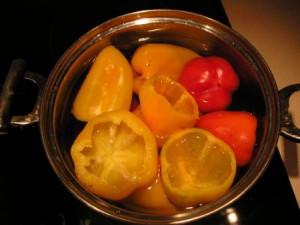 На фото - бланшировка сладкого перца, forum.say7.info