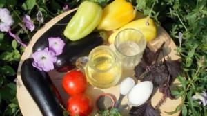 Фото ингредиентов соте из баклажанов, zagotovkinazimu.ru
