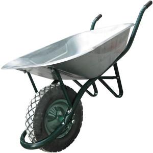 Укрепляем и усиливаем садовые одноколесные тележки