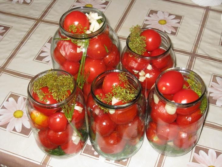 Консервирование помидор в домашних условиях рецепты 671