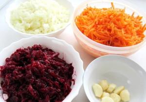Фото продуктов для приготовления овощной икры со свеклой, povarenok.ru