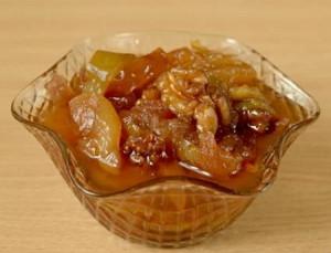 яблочное варенье с грецкими орехами рецепт