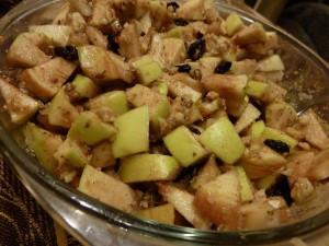 Фото смеси из яблок с грецкими орехами, ekburg.tv