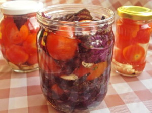Как засолить помидоры черри на зиму – самое быстрое приготовление