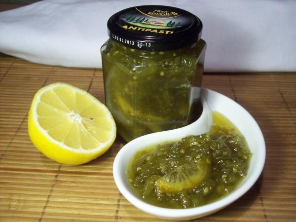 Рецепт варенья из зеленых помидор с фото