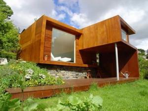 Необычные проекты дачных садовых домиков – делаем эскиз по фото фото
