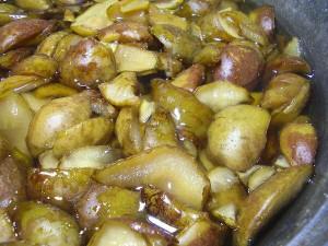 Как варить грушевое варенье – работаем с дольками фото