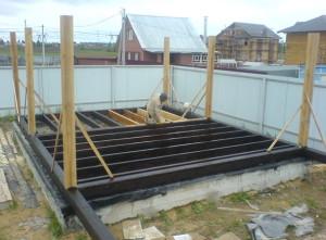 Фото фундамента гаража на даче своими руками, montaj-doma.ru