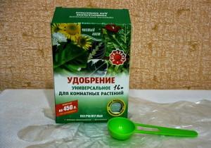 На фото - удобрение для жасминовой гардении, olgabelykova.blogspot.com
