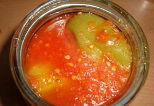 Перец для фаршировки в томатном соке – двойной рецепт