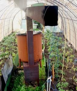 Фото печки для обогрева теплицы, parnik-teplitsa.ru