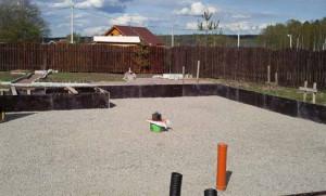 Фото подушки из гравия и песка, stroy-shkola.ru