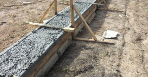 Фото заливания бетонного фундамента теплицы, vse-postroim-sami.ru