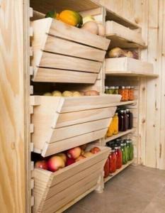 Фото устройства места для хранения овощей, vk.com