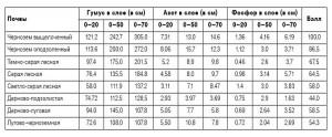 Фото количества гумуса в серых лесных почвах, m-economy.ru
