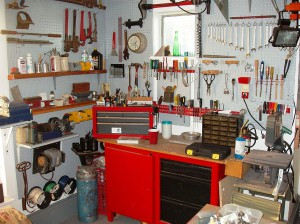 Выбор места для домашней мастерской