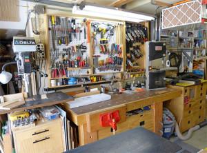 Как оборудовать мастерскую своими руками