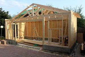 Фото строительства деревянного гаража своими руками, rudacha.ru
