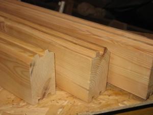 Фото бруса камерной сушки для строительства деревянного гаража, ckdoma.ru