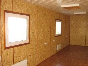 На фото - внутренняя отделка стен каркасного гаража, otdelka-expert.ru