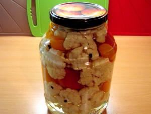 Рецепты – маринованная с помидорами фото