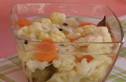 рецепт соление цветной капусты