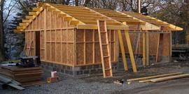 Как построить каркасный гараж своими руками – простые советы