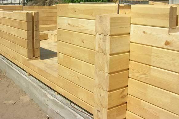 Строим дом своими руками из профилированного бруса