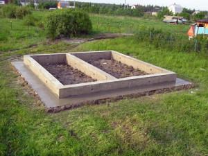 Фото ленточного фундамента для сруба бани, moifundament.ru