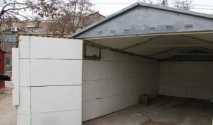 Фото утепления гаража, kakpravilnosdelat.ru